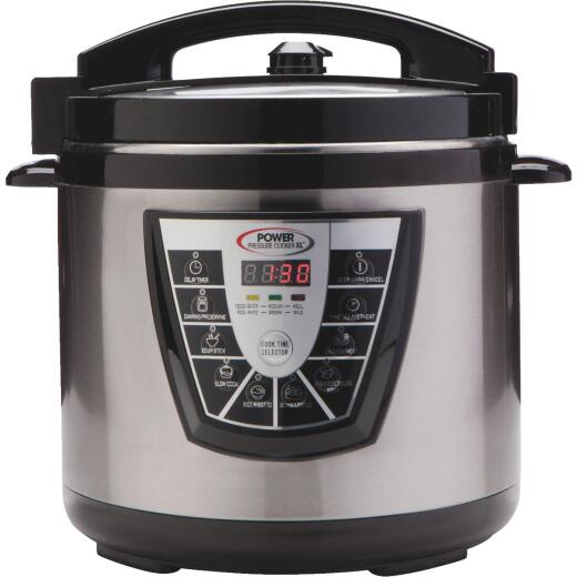 Power Pressure Cooker XL Multi Use 8 Qt. Cooker and Canner
